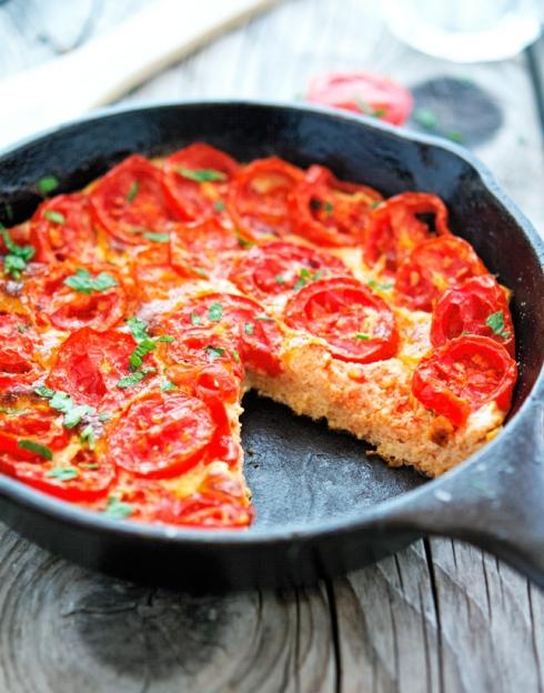Summer Tomato Frittata
